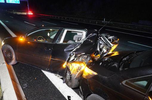Unfall auf A8 sorgt für Vollsperrung Richtung Stuttgart