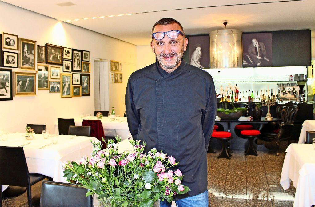Carlo Casorati hat das Lokal mit Schwarz-Weiß-Fotos dekoriert. Foto: Holowiecki