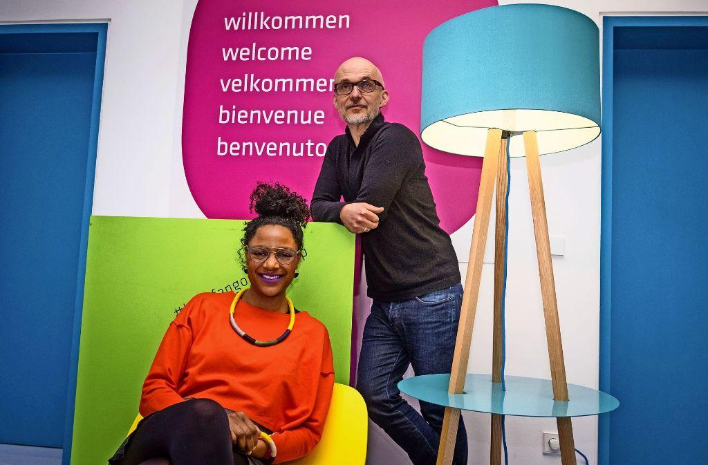 Jennifer Reaves und Dieter Hofmann sind die Macher. Foto: Lichtgut/Max Kovalenko
