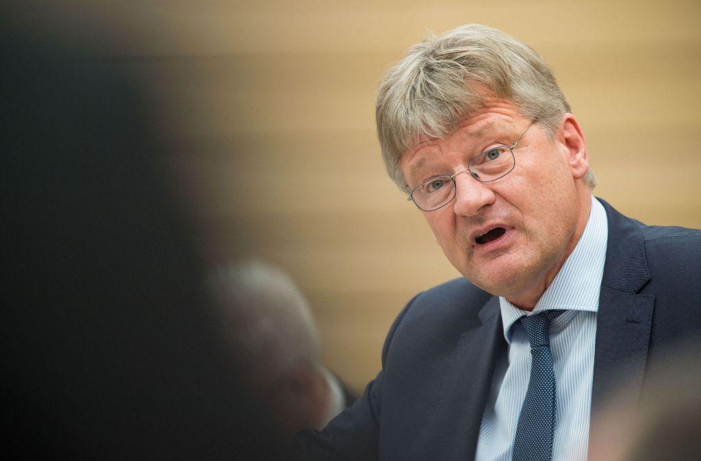 AfD-Chef Jörg Meuthen und seine Frau haben sich getrennt. Foto: dpa