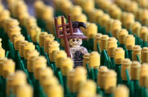 10.000 Besucher bei den Legokunstwerken