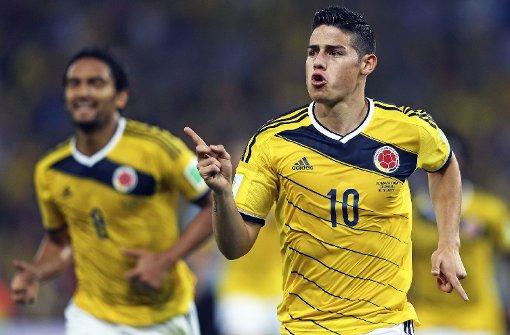 Erstes Viertelfinale: Brasilien gegen Kolumbien