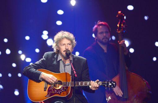 Wolfgang Niedecken spielt mit BAP in der Liederhalle