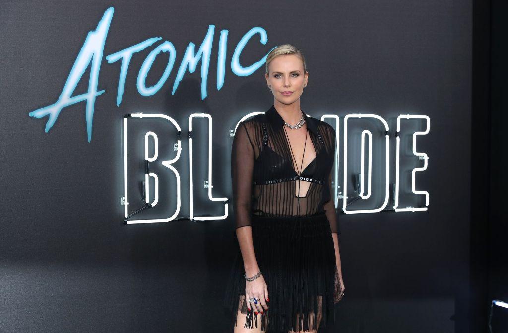 Charlize Theron bei der Premiere von Atomic Blonde in Los Angeles. Foto: GETTY IMAGES NORTH AMERICA