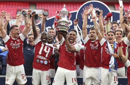 Arsenal dank Aubameyang zum 14. Mal Pokalsieger