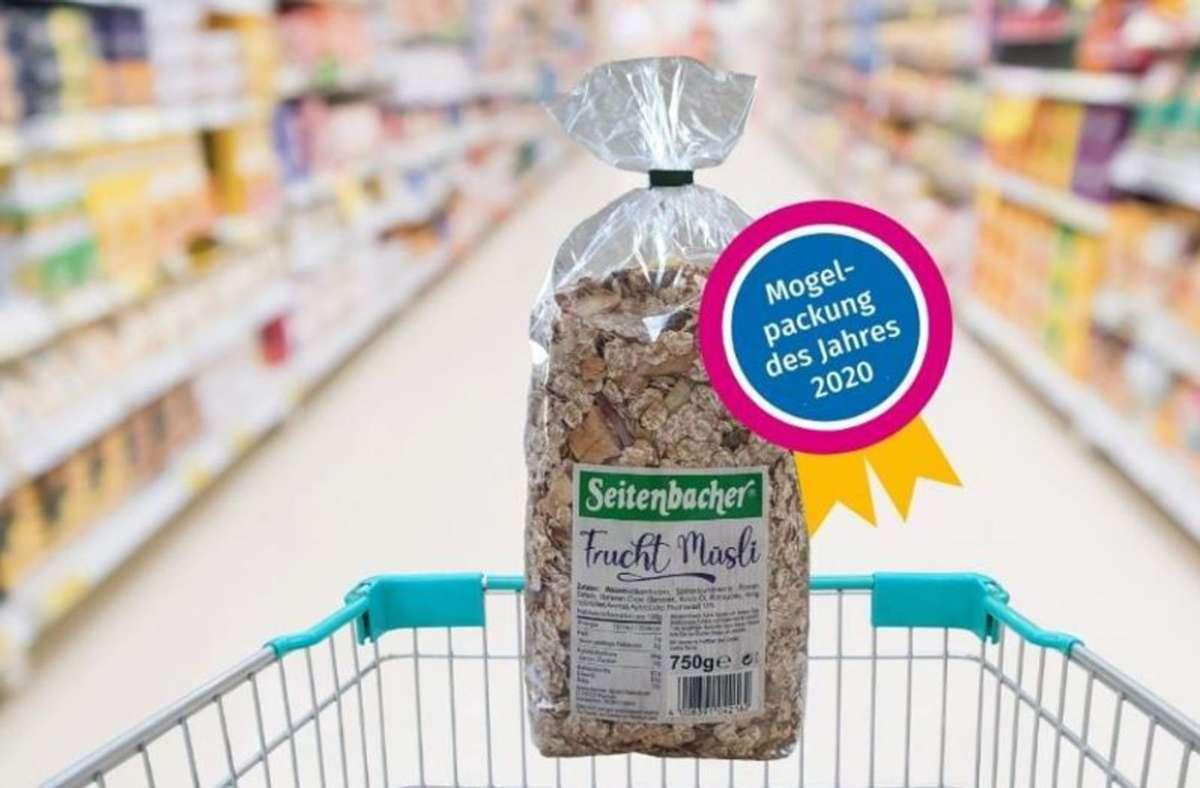Verbraucherschützern zufolge wird das Müsli mittlerweile nicht mehr hergestellt, in einigen Supermärkten sei es jedoch noch zu finden. Auf der Website des Herstellers wurde das Müsli am Montag nicht angeboten. Foto: Verbraucherzentrale Hamburg