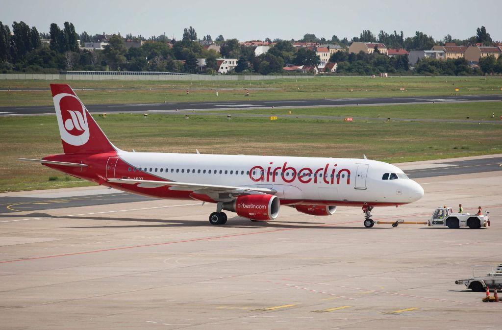 Die Fluggesellschaft Air Berlin muss Insolvenz anmelden. Foto: AFP