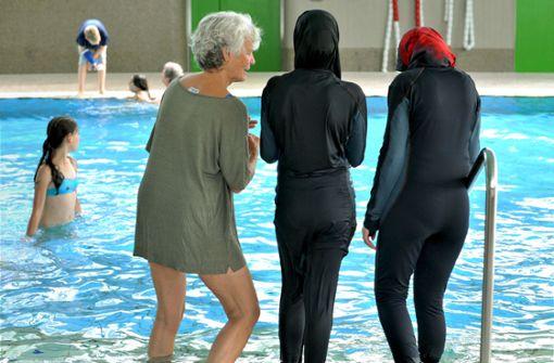 Muslima wird Bad vorerst meiden