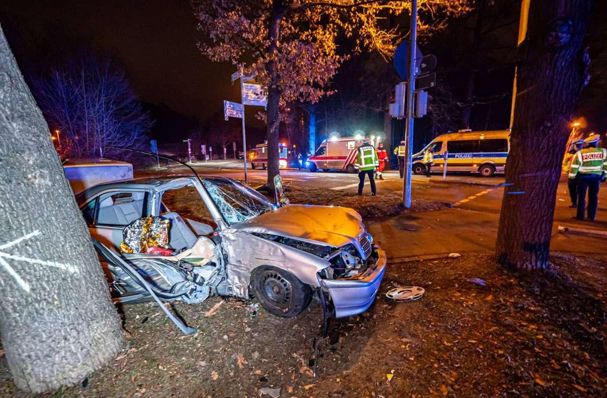 Der Unfall ereignete sich am frühen Sonntagmorgen. Foto: 7aktuell.de/Alexander Hald
