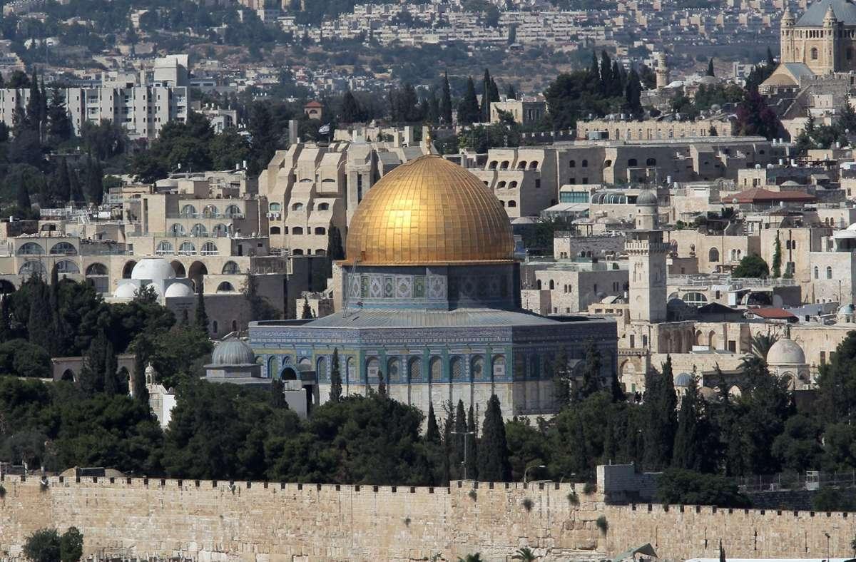 Die Lage in Jerusalem ist derzeit extrem angespannt. (Symbolbild) Foto: dpa/Roland Holschneider