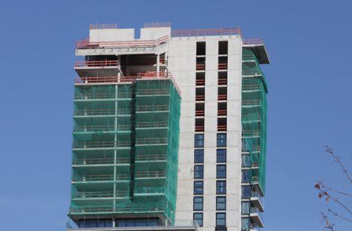 Tower soll Ende 2020 bezugsfertig sein