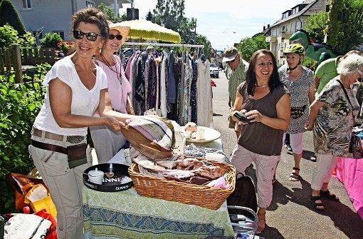 Hofflohmärkte locken viele Besucher