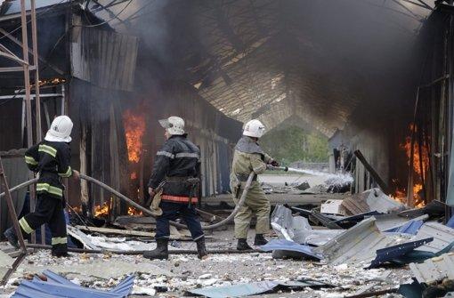 Ukraine fordert vom Westen mehr Hilfe