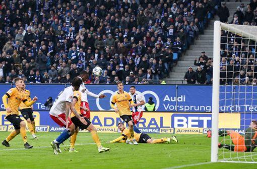 HSV übernimmt nach Drama in der Nachspielzeit die Tabellenführung