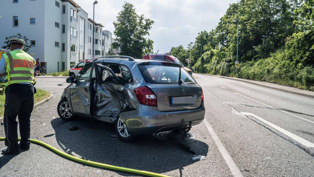 Eindrücke von der Unfallstelle. Foto: sdmg