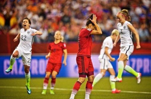 DFB-Elf unterliegt USA im WM-Halbfinale