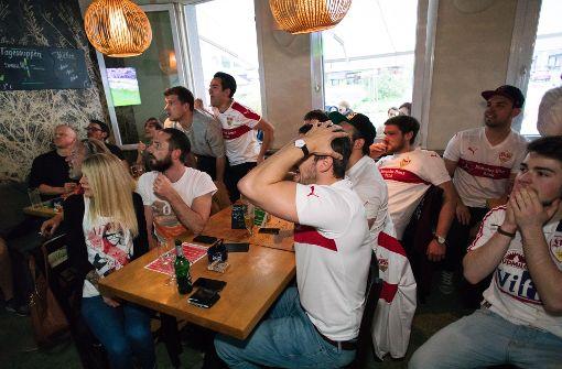 VfB-Fans leiden in Stuttgarter Kneipen