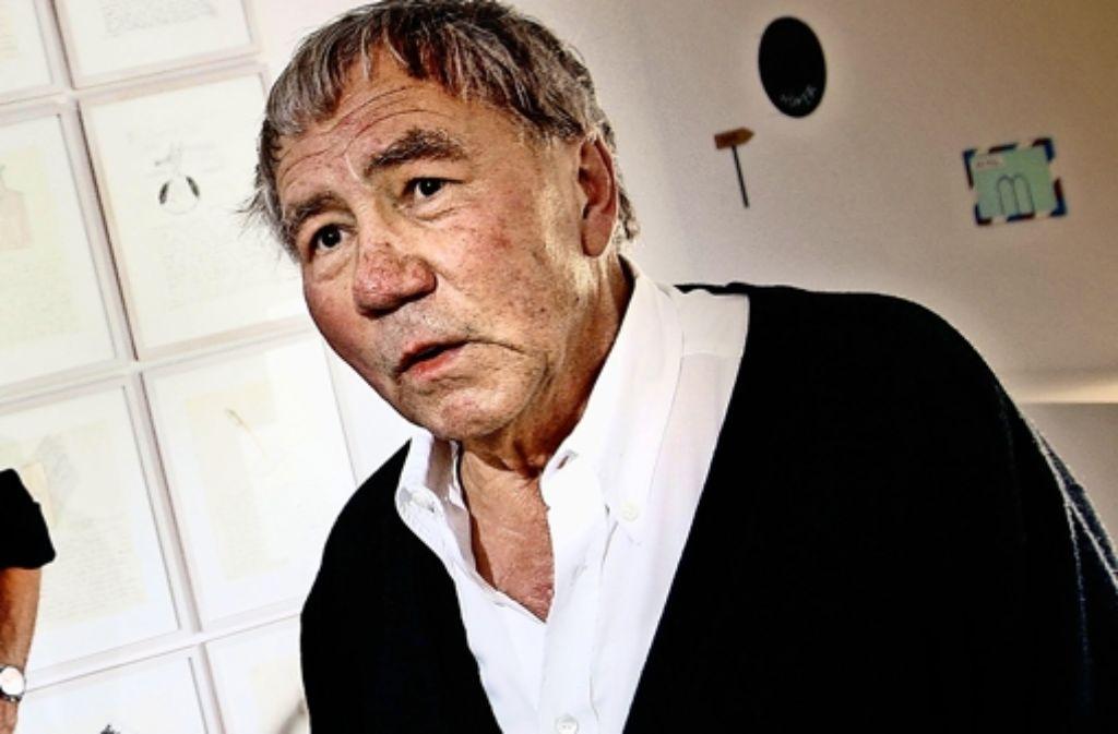 Fritz Schwegler ist gestorben. Foto: Horst Rudel