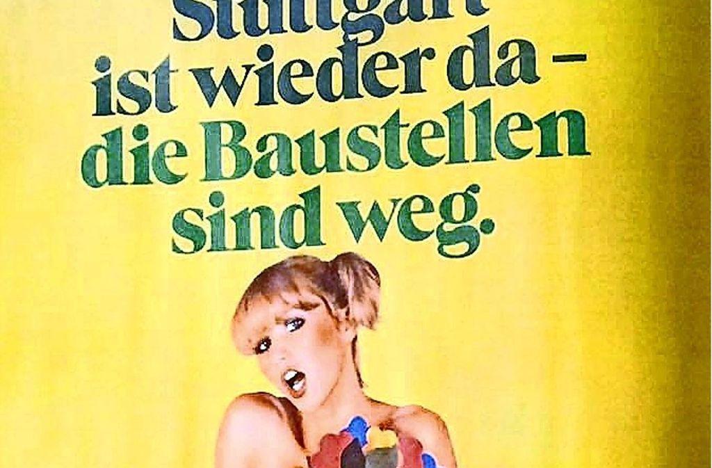 Ein Stuttgarter Plakat für die Bundesgartenschau im Jahr 1977. Foto: Krimmel