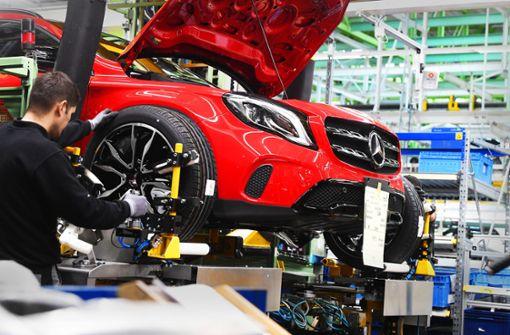 Finanzprofis mit Daimler unzufrieden