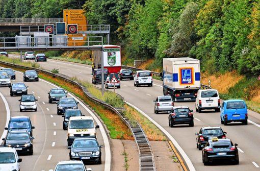 Maßnahmen gegen den Krach der Bundesstraße