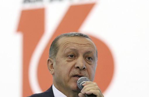 Erdogan mit Verbal-Attacke gegen Sigmar Gabriel