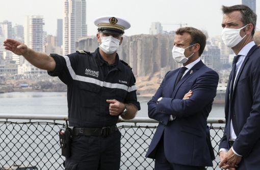 Emmanuel Macron erhöht Reformdruck auf Libanons Führung