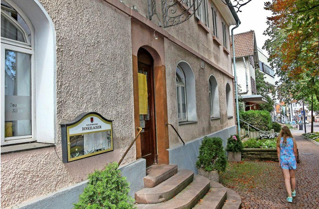 Der Pächter aus Kalabrien hat den Hirsch nach 37 Jahren geschlossen. Foto: factum/Bach