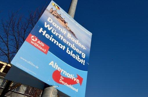 Die AfD will bei der Wahl  am Sonntag in den Landtag einziehen. Foto: Getty Images Europe