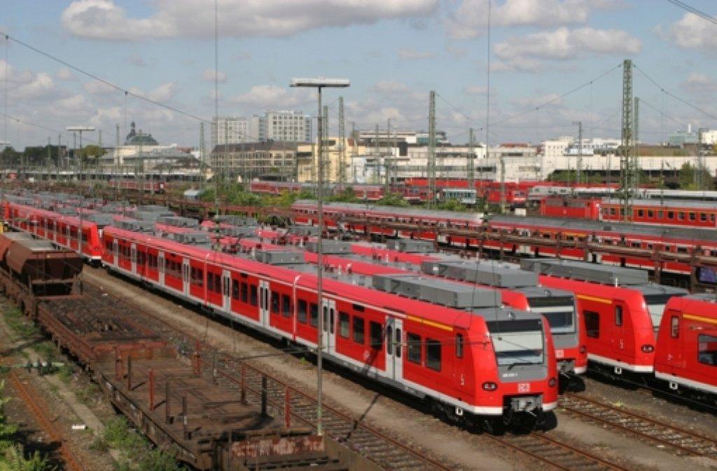 Der Mannheimer Hauptbahnhof wurde heute teilweise nicht angefahren. Foto: dpa
