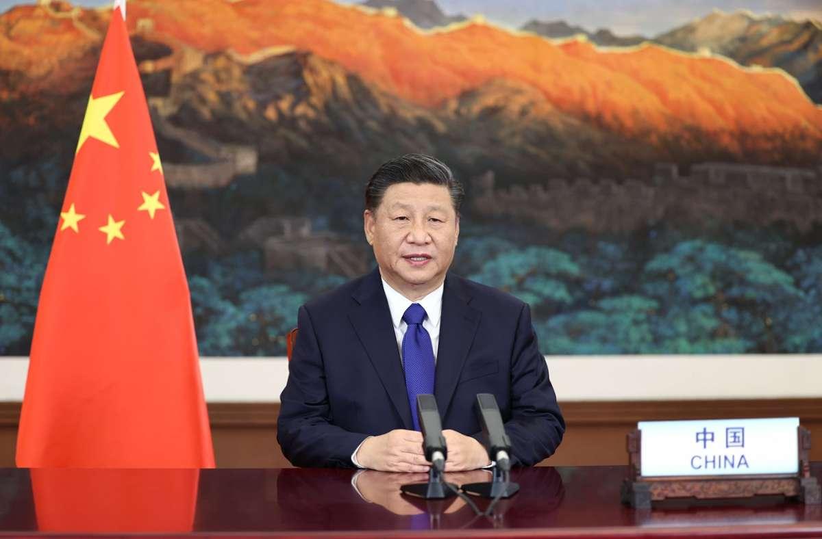 China um Präsident Xi Jinping hat Sanktionen gegen Politiker aus den USA und Kanada verhängt. Foto: dpa/Ju Peng