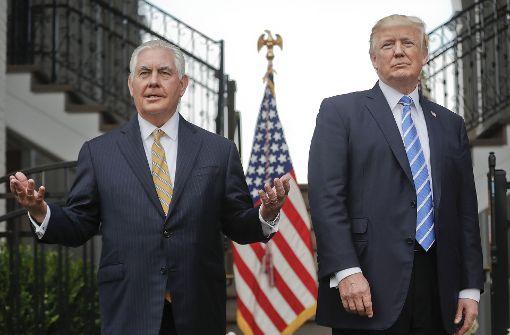 Tillerson äußert sich zu Spannungen mit Trump