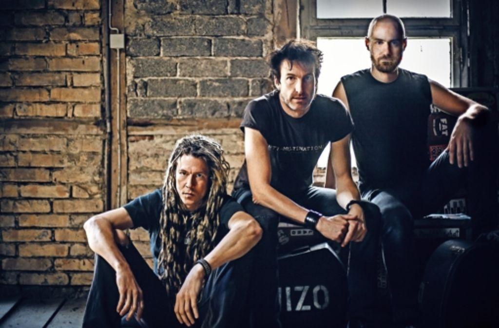 Leicht in die Jahre gekommen, aber munter: Wizo 2014 sind Ralf Dietel, Axel Kurth und Thomas Guhl (von links). Foto: Andre Noll