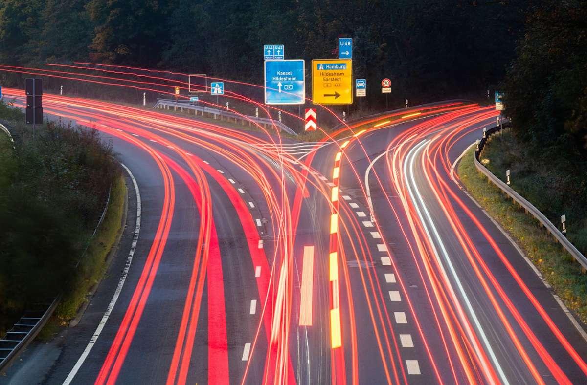 Bei den Punkten Verkehrssicherheit, Lärm und Flächenverbrauch überzeugte Baden-Württemberg. Foto: dpa/Julian Stratenschulte