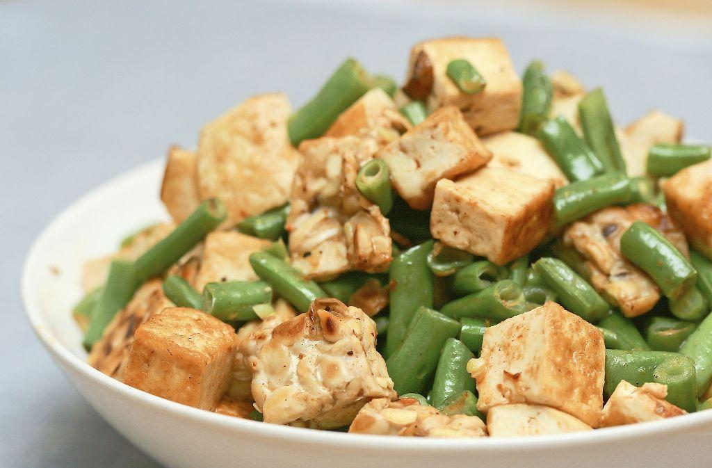 Tofu enthält 2,7 Milligramm Eisen  auf 100 Gramm. Sein Nachteil: Er schmeckt fast nach nichts. Foto: deviantART - Fotolia