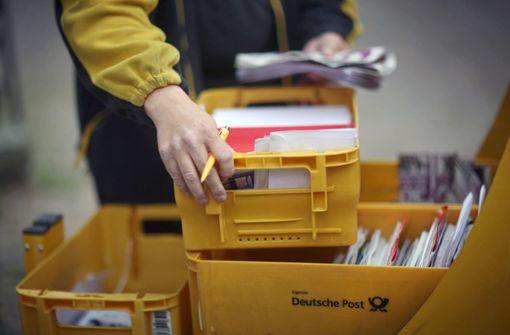 Deutscher Post droht Ärger wegen Plastik-Wurfsendung