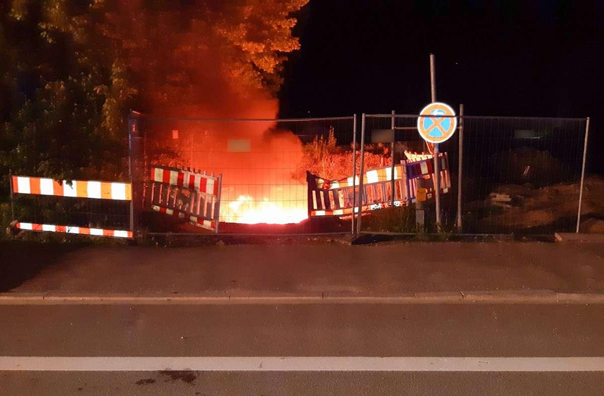 Der Kabelbrand sorgte für einen weiträumigen Stromausfall in München. Foto: dpa/---
