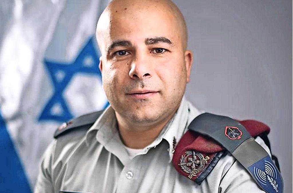 Arye Sharuz ShalicarArye Sharuz Shalicar wuchs als Sohn iranischer Juden in Göttingen und Berlin auf. Heute ist er einer von   vier Pressesprechern der Israelischen Armee. Foto: Shalicar