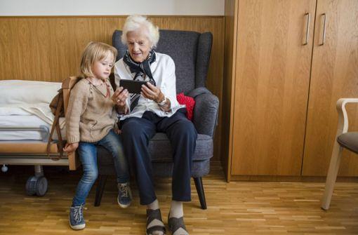 Schaffen Senioren  den Anschluss?