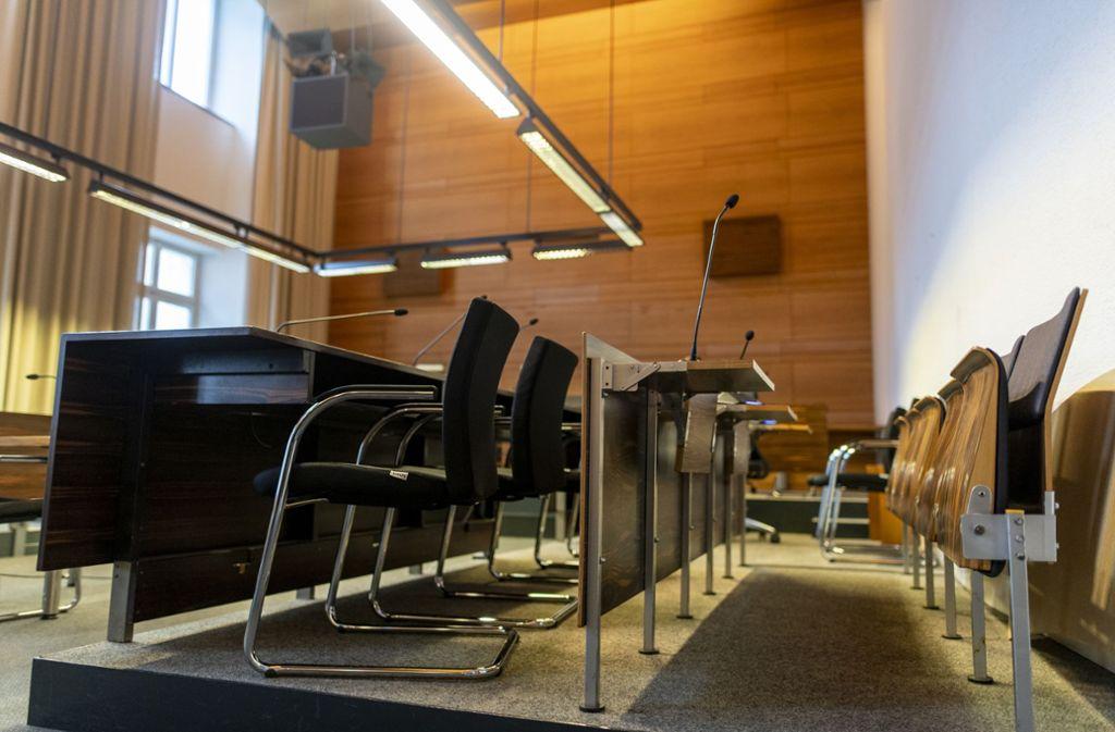 Vor dem Landgericht Freiburg startet ab diesem Mittwoch der Prozess um eine Gruppenvergewaltigung. Foto: Patrick Seeger/dpa