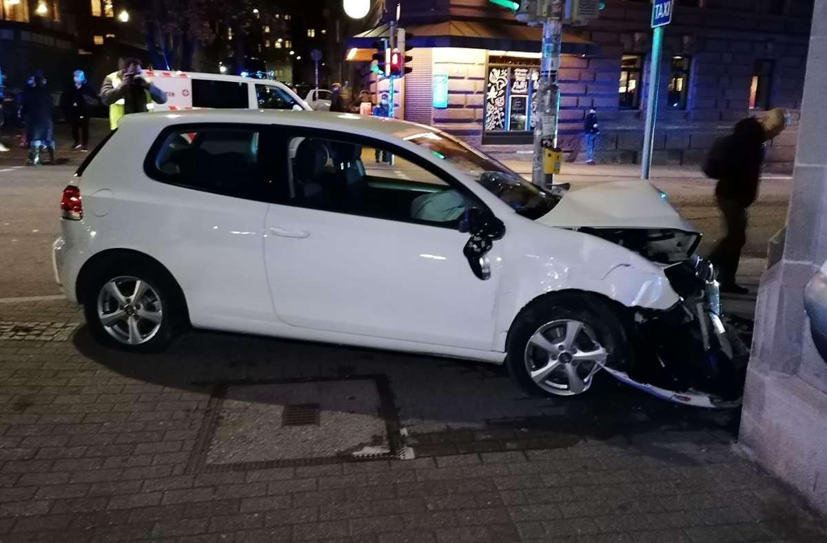 Der Unfall ereignete sich in der Nähe des Bismarckplatz. Foto: Fotoagentur Stuttgart/Andreas Rosar