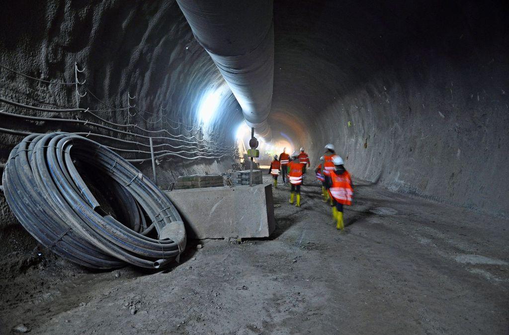 Unterm Lindenschulviertel baut die Bahn einen S-21-Tunnel. Foto: Claudia Leihenseder