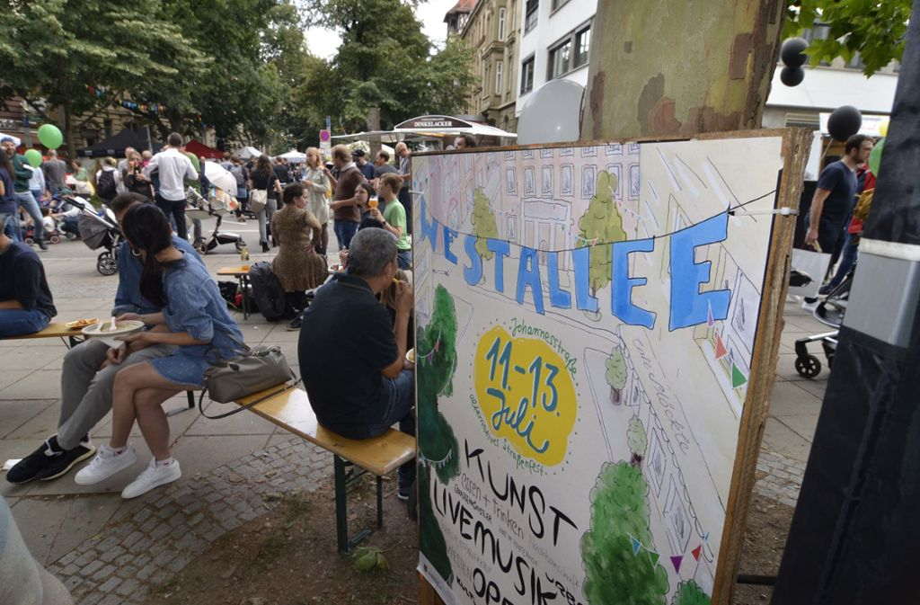 Bereits zum vierten Mal wurde das Straßenfest organisiert. Foto: Andreas Rosar Fotoagentur-Stuttg