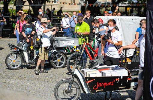 Lastenräder als Einkaufskorb oder Enkeltaxi