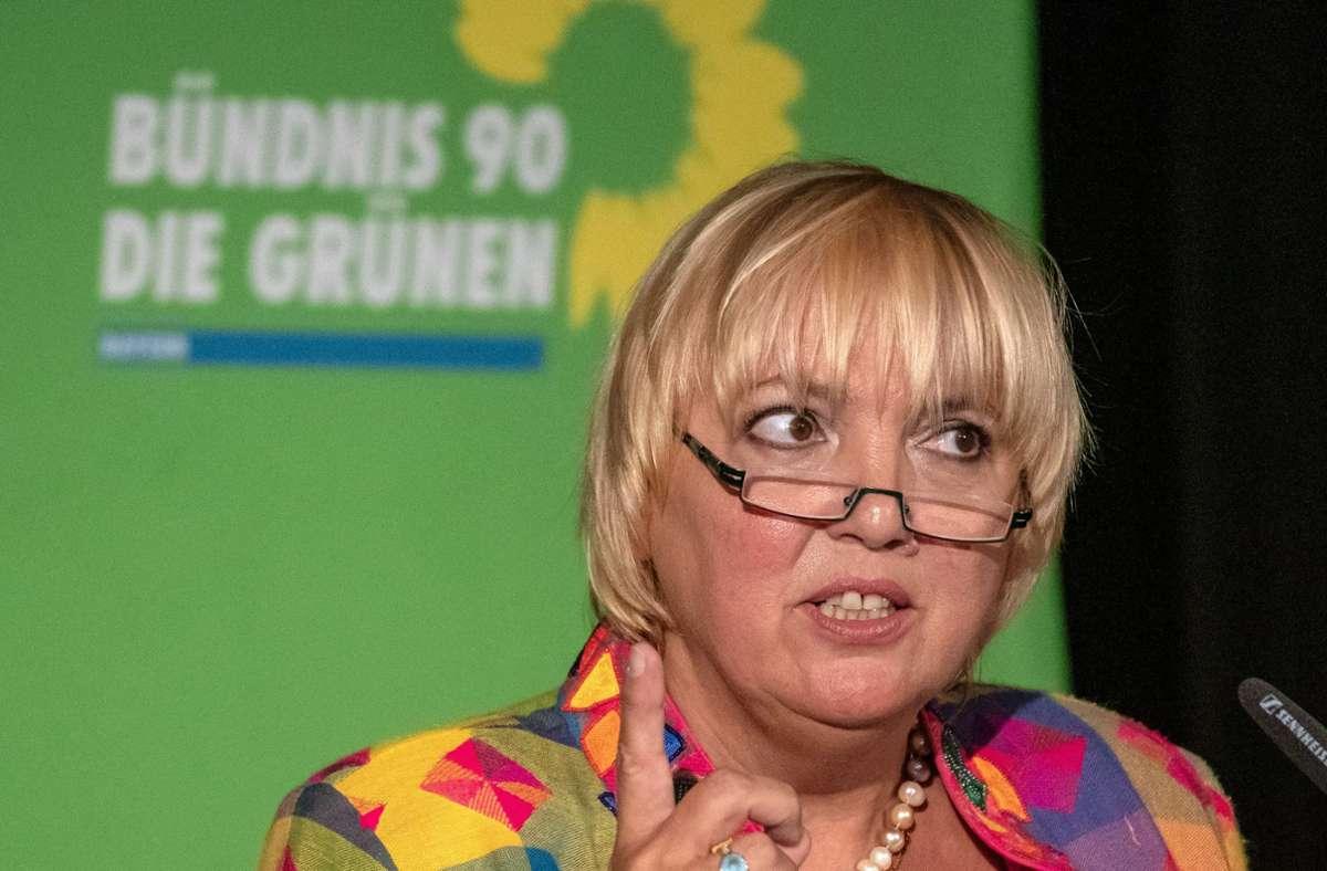Die Bundestagsvizepräsidentin Claudia Roth sprach von moralischer Grenzüberschreitung. (Archivbild) Foto: dpa/Armin Weigel