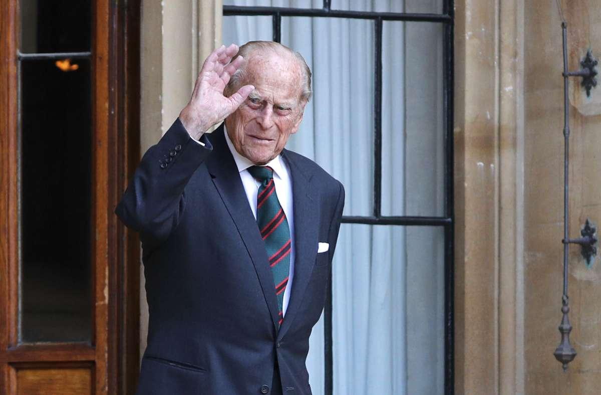 Prinz Philips öffentliche Auftritte sind sehr rar geworden. Foto: dpa/Adrian Dennis