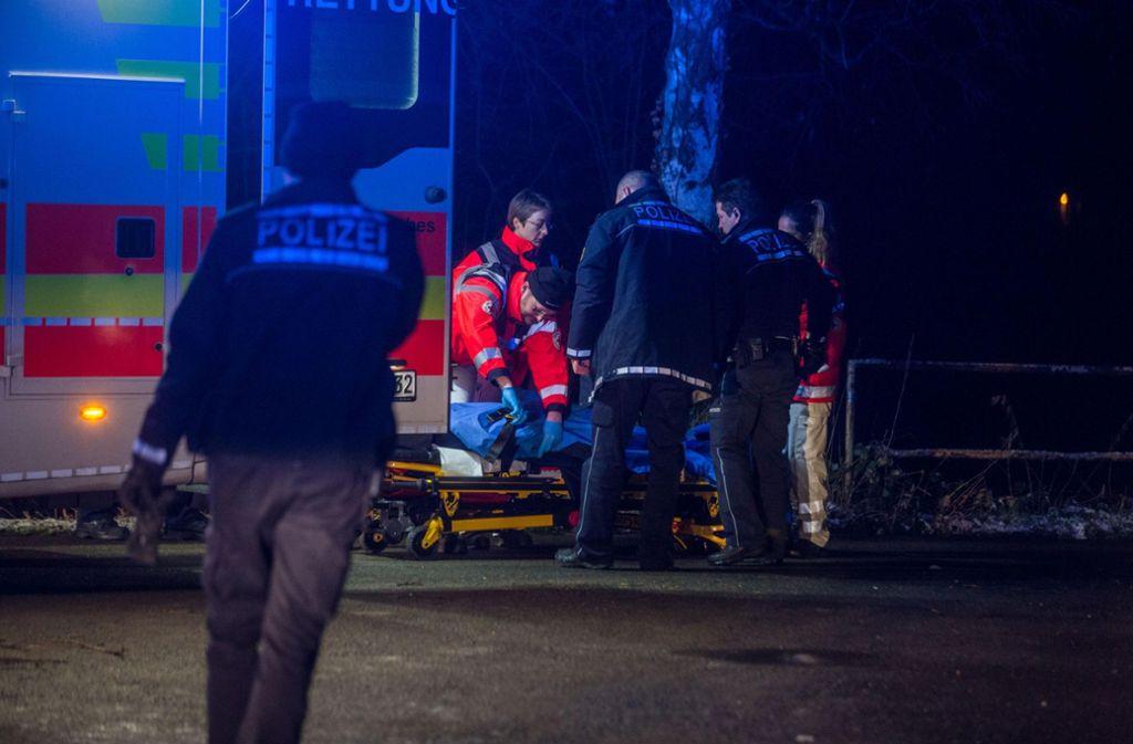 Unterkühlt wurde der Mann in ein Krankenhaus gebracht. Foto: 7aktuell.de/Simon Adomat