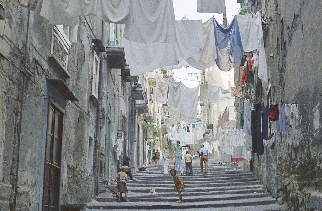 Prekäre Kindheit: Die Erzählerin ist in einem ärmeren Viertel Neapels aufgewachsen. Foto: AP