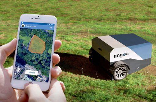 Ein Roboter zum Müllsammeln