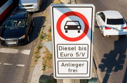 Kritik an Mini-Fahrverboten - SPD für Bußgelder gegen Autobauer